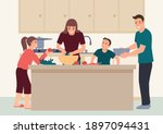 simple flat vector illustration ... | Shutterstock .eps vector #1897094431
