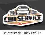 vector logo for car service ... | Shutterstock .eps vector #1897159717