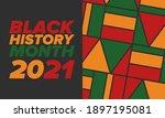 black history month. african... | Shutterstock .eps vector #1897195081