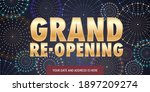 grand opening or re opening...   Shutterstock .eps vector #1897209274