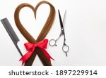 Scissors  Comb And Heart Shaped ...