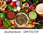 stock image of traditional... | Shutterstock . vector #189731729