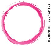 Pink Grungy  Grunge Paintbrush  ...