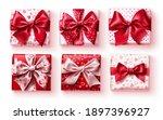 valentine's gift set vector... | Shutterstock .eps vector #1897396927