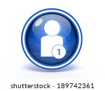 add circular icon on white... | Shutterstock . vector #189742361
