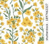 elegant seamless pattern of...   Shutterstock .eps vector #1897462327