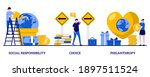 social responsibility  choice ... | Shutterstock .eps vector #1897511524