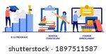 k 12 program  school curriculum ... | Shutterstock .eps vector #1897511587