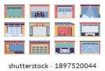 garage door vector realistic... | Shutterstock .eps vector #1897520044
