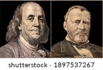 Portrait Of U.s. Presidents...