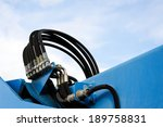 pressure pipe and hose to the... | Shutterstock . vector #189758831