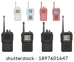 walkie talkie vector design...   Shutterstock .eps vector #1897601647