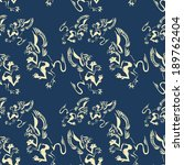 pattern with griffins | Shutterstock .eps vector #189762404