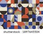 modern geometric abstract... | Shutterstock .eps vector #1897645504