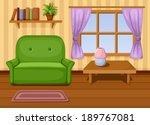 living room. vector... | Shutterstock .eps vector #189767081