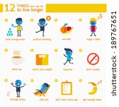 infographics 12 things you can... | Shutterstock .eps vector #189767651