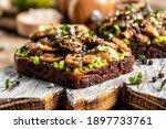 Avocado  Mushrooms And...