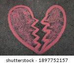 Hand Drawn Heart Breaking...