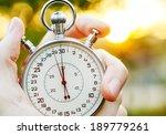 old chronometer  | Shutterstock . vector #189779261
