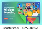 illustrations flat design... | Shutterstock .eps vector #1897800661