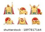 Joyful Fat King Character...