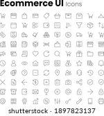 ecommerce app and web ui icon...
