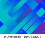abstract geometric gradient...   Shutterstock .eps vector #1897838077