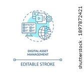 digital asset management... | Shutterstock .eps vector #1897872421