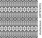 traditional aztec seamless...   Shutterstock .eps vector #1897876951