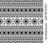 traditional aztec seamless...   Shutterstock .eps vector #1897876957