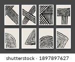 set of contemporary art prints. ... | Shutterstock .eps vector #1897897627