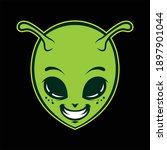 alien logo vector art. eps...   Shutterstock .eps vector #1897901044