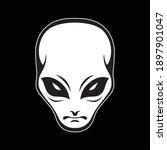 alien logo vector art. eps...   Shutterstock .eps vector #1897901047