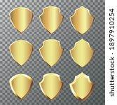 retro vintage golden badges and ...   Shutterstock .eps vector #1897910254