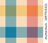 colorful buffalo check plaid... | Shutterstock .eps vector #1897915321