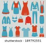 women fashion clothes vintage...