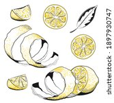 Collections Of Lemons   Hand...