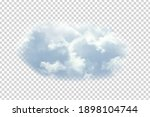 Vector Realistic Isolated Cloud ...