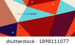 backgrounds with abstract... | Shutterstock .eps vector #1898111077