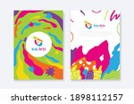 kids arts logo and stationery...   Shutterstock .eps vector #1898112157