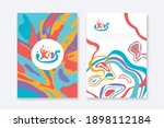 kids arts logo and stationery...   Shutterstock .eps vector #1898112184