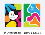 kids arts logo and stationery... | Shutterstock .eps vector #1898112187