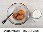 Brown Chicken Eggs  Whisk In...