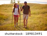 portrait of couple of happy... | Shutterstock . vector #189813491