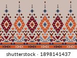 ethnic abstract background.... | Shutterstock .eps vector #1898141437