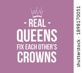 Real Queens Fix Each Others...