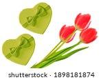 Valentine's Day. Bouquet Of...