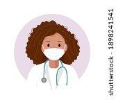 african american woman... | Shutterstock .eps vector #1898241541