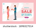 special offer valentines day... | Shutterstock .eps vector #1898327014