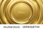 golden circular background.... | Shutterstock .eps vector #1898368744
